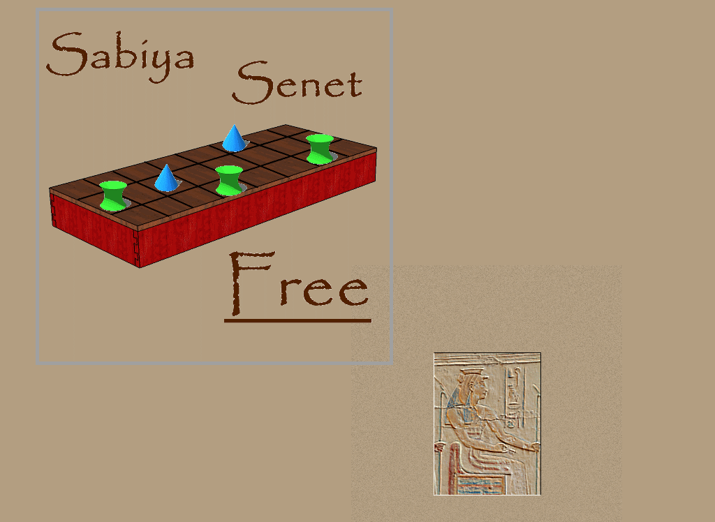Senet splash screen